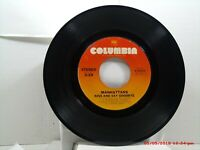 MANHATTANS -(45)- KISS AND SAY GOODBYE / WONDERFUL WORLD OF LOVE - COLUMBIA-1976