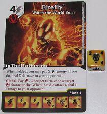 FIREFLY: WATCH THE WORLD BURN 93/124 Batman Dice Masters DC Rare