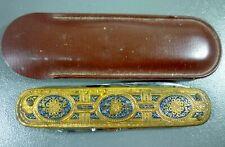 Vintage Sterling-Winthrop Research Institute Rensselaer, NY Ornate Pocket Knife