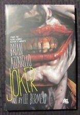 2008 JOKER by Brian Azzarello HC/DJ NM/VF 2nd Printing DC