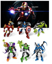 New Transformers Avengers Action Figures Iron Thor Hulk Toys Optimus Prime Robot