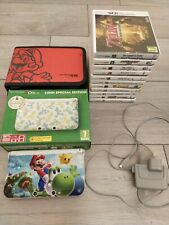 Nintendo 3DS XL Luigi Special Edition with 11 3DS games - great investment