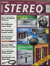 Stereo 5/09 AVM A3NG & M3 NG, Dali Helicon 400, Scheu Laufwerk No.2, Elac 310 CE