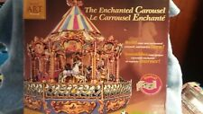 Wrebbit The Enchanted Carousel Build Art Collection 3D Musical Motion Craft Kit