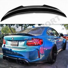 BMW CARBON F22 F87 M2 PERFORMANCE STM BOOT SPOILER WING REAR 2 SERIES