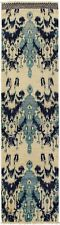 """Hand-knotted  Carpet 2'6"""" x 10'4"""" Shalimar Transitional Wool Rug"""