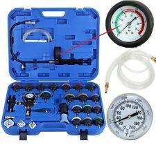 28 Pcs Radiator Pressure Tester Vacuum-Type Cooling System Refill Kit W/Case New