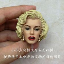 Custom Marilyn Monroe 1/6 Head Sculpt for Hot Toys Phicen Female Body