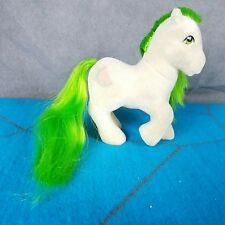 My Little Pony G1 So Soft SS SCRUMPTIOUS Green Hair Flocked Hasbro Vintage