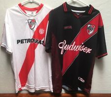 Lot of 2 Club Atletico River Plate CARP Argentina Jerseys XL Unbranded 532365b78cc03