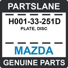 H001-33-251D Mazda OEM Genuine PLATE, DISC