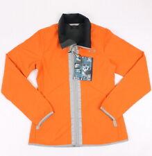 Oakley Womens Brookside Soft Shell Casual Jacket Flame Orange S New