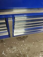 Custom made Drawer labels fits Snap On mac tools All Drawer Tool Box Toolbox krl