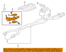 Chevrolet GM OEM 14-15 Camaro 7.0L-V8-Catalytic Converter 22906769