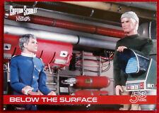 CAPTAIN SCARLET 50 YEARS - Card #07 - BELOW THE SURFACE - Unstoppable Cards 2017