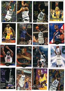 Shaquille Oneal Mixed Lot of (50) Cards, SP