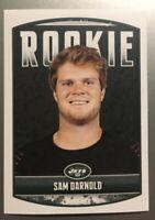 2018 NFL PANINI STICKER ROOKIE CARD #63 SAM DARNOLD NEW YORK JETS QB DRAFT RC