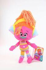 """TROLLS plush DJ SUKI 12"""" soft toy Hug 'N Plush DreamWorks movie - NEW!"""
