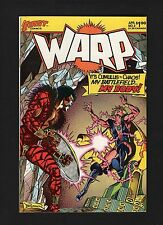 FIRST Comics 1983 Vol 1 #2 WARP Cumulus vs Chaos VGC Bagged & Boarded