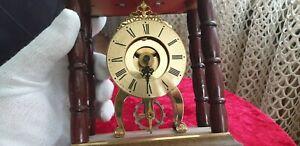 Sammler Kamin Tisch Uhr BULOVA Watch Co Inc Leider Defekt