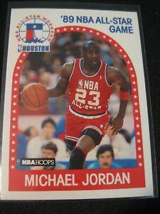 MICHAEL JORDAN 1989-90 NBA Hoops '89 NBA All-Star Game #21 Chicago Bulls