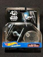 Disney Hot Wheels Starships TIE FIGHTER Star Wars NIP 40th Anniversary 2016