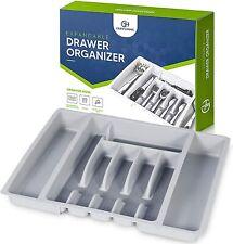 Expandable Utensil Drawer Organizer - Modern Cutlery Organizer in Drawer