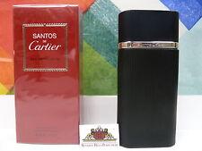 SANTOS DE CARTIER EAU DE TOILETTE SPRAY 3.3 OZ / 100 ML NIB SEALED FOR MEN