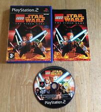 LEGO STAR WARS: The Video Game | Playstation 2 Game PS2