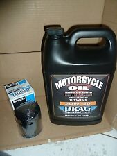 HARLEY DAVIDSON GALLON OF OIL'  BLACK FILTER FOR DYNA 1985 TO 2017