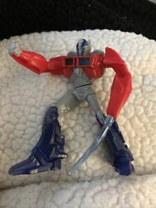 """Happy Meal Transformers Optimus Prime 4"""" Tall Toy Action Figure 2013 McDonalds"""