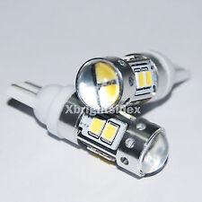 2pcs 921 912 906 T10 T15 Samsung 11w LED DRL Position Light Projector Lens White