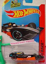 Case M/N 2014 i Hot Wheels F1 RACER #146 ☆Black/Orange/White Driver;8~Race Team