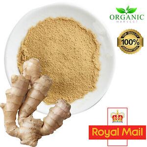 Organic Ginger Powder (Digestion, Reflux) Adrak Masala Seasoning Great Taste 1Kg
