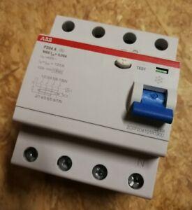 ABB F204A 100/0,03 FI-Schutzschalter Typ-A 100A 30mA 4-polig 2CSF204101R1900