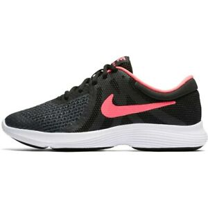 Nike Womens Running Trainers Nike Revolution 4 GS Flex Gym Fitness Trainers Size