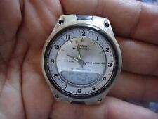 CASIO ILLUMINATOR Telememo 30 WR 50M World Time Water Resistant Watch