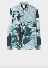 Paul Smith Slim Fit  Paul's Photo Print Shirt Size L RRP £285 BNWT