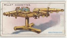 Early Spectroscope Apparatus Machine 1915 Ad Trade Card