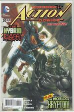 Superman Action Comics #20 New 52, DC comics comic book