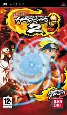 NARUTO ULTIMATE NINJA HEROES 2 ESSENTIALS EDITION SONY PSP GAME