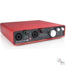 Focusrite Scarlett 6i6 USB 6x6 Computer Audio Recording Interface w/ Mic Preamps