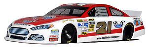 Standard 1/10 Clear RC car body, NASCAR GEN 6  FUSION  FORD ...#293