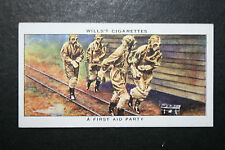 British WW2 Chemical Warfare First Aid Party   Vintage Card ## VGC
