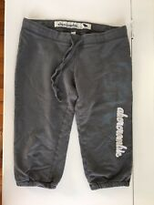Abercrombie Kids Girls Gray Cropped Sweatpants Xl