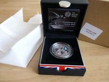 2011 Olympic Silver Proof piedfort Countdown crown Cycling