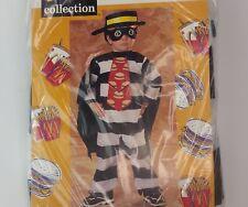 New McDonald's Hamburglar Hambergler Infant Kids Halloween Costume Ages (1-2)