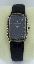 Jaeger leCoultre Classic Vintage RARE Sterling Silver gent's watch.