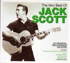 JACK SCOTT - THE VERY BEST OF - 50 ORIGINAL RECORGING (NEW SEALED 2CD)