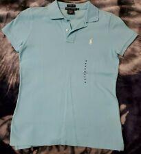 Ralph Lauren Light Baby Blue Skinny Polo Size Medium